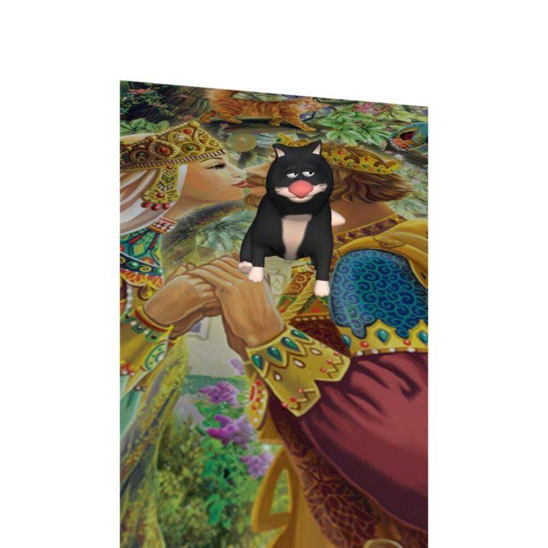 """3D книга для детей """"Сказки от ведуньи, от лесной колдуньи. Осторожно: Баба-яга!"""""""